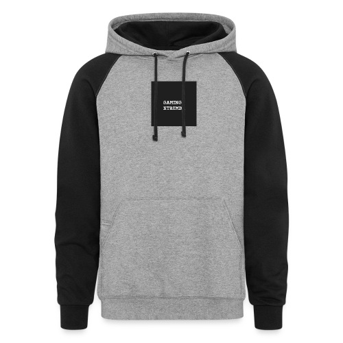 Gaming XtremBr shirt and acesories - Colorblock Hoodie
