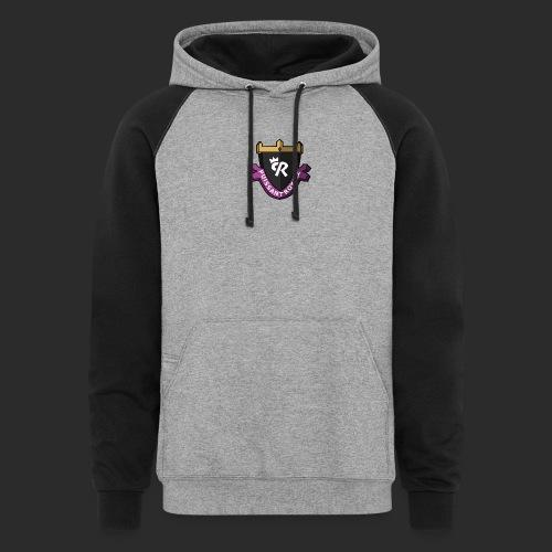 Puissant Royale Logo - Unisex Colorblock Hoodie
