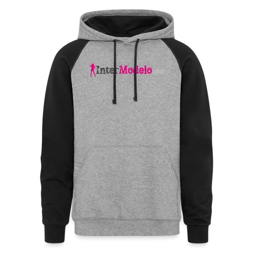 Intermodelo Color Logo - Colorblock Hoodie