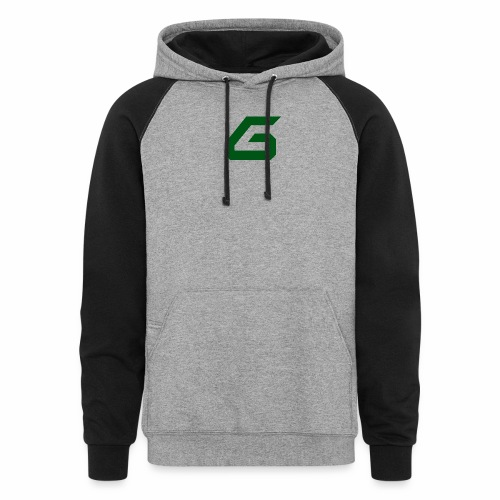 The New Era M/V Sweatshirt Logo - Green - Colorblock Hoodie