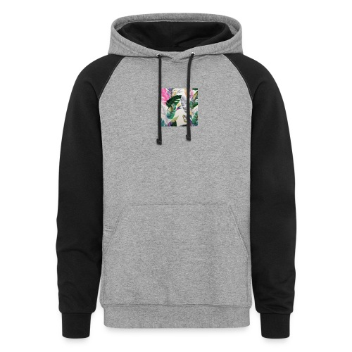 Colorblock Hoodie - Km,Merch,Kb