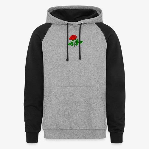 rose - Unisex Colorblock Hoodie