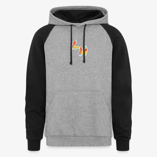 Los Hermanos Logo - Colorblock Hoodie