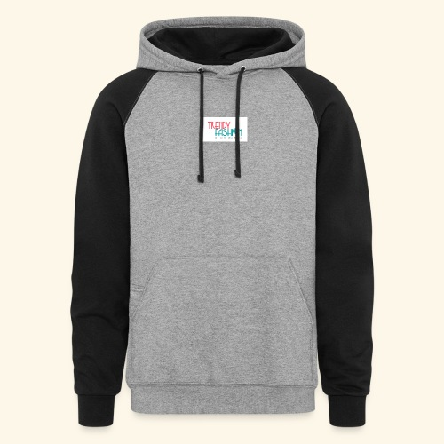 Trendy Fashions Go with The Trend @ Trendyz Shop - Colorblock Hoodie