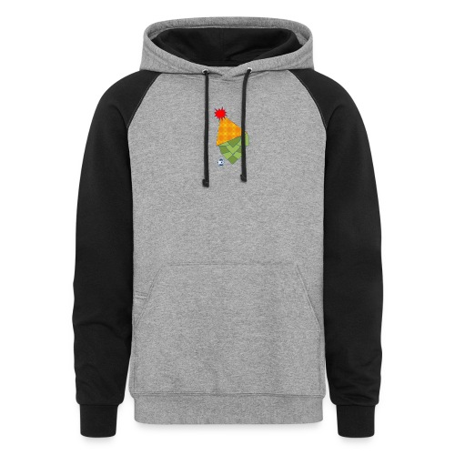 Hoppy Brew Year - Unisex Colorblock Hoodie