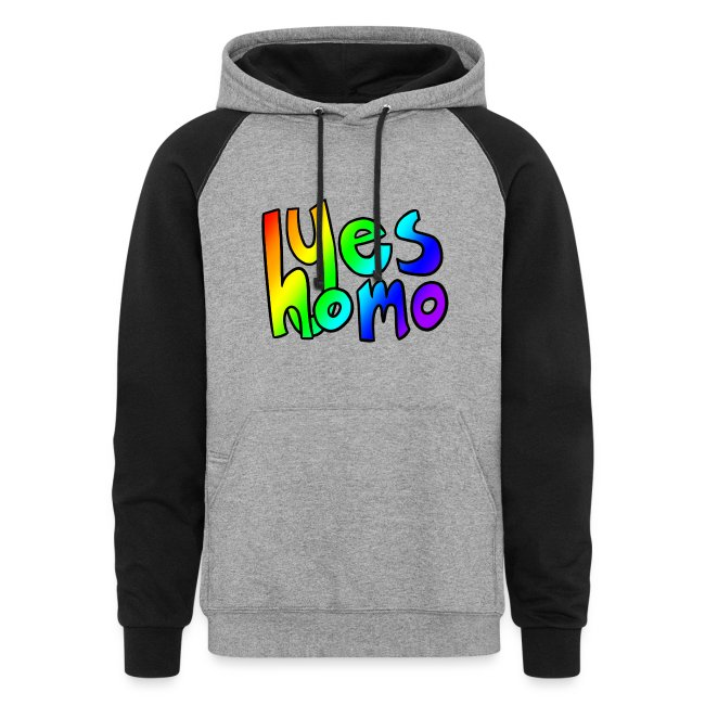 Yes Homo (Rainbow)