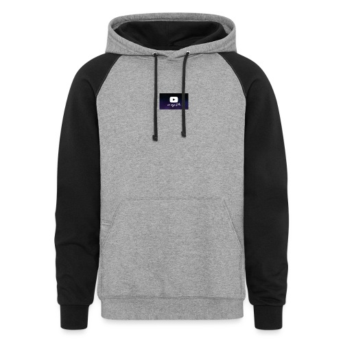 my life is youtube poster - Colorblock Hoodie