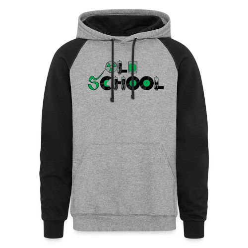 Old School Music - Colorblock Hoodie