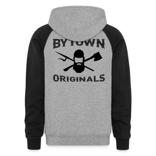 Bytown Black - Colorblock Hoodie
