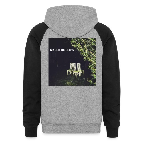 Green Hollows EP Special Merch - Unisex Colorblock Hoodie