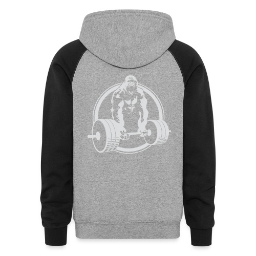 Gorilla Lifting Gym Fit - Unisex Colorblock Hoodie