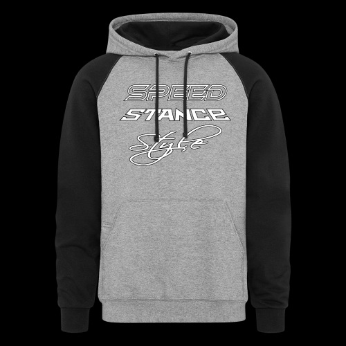 Speed stance style - Unisex Colorblock Hoodie