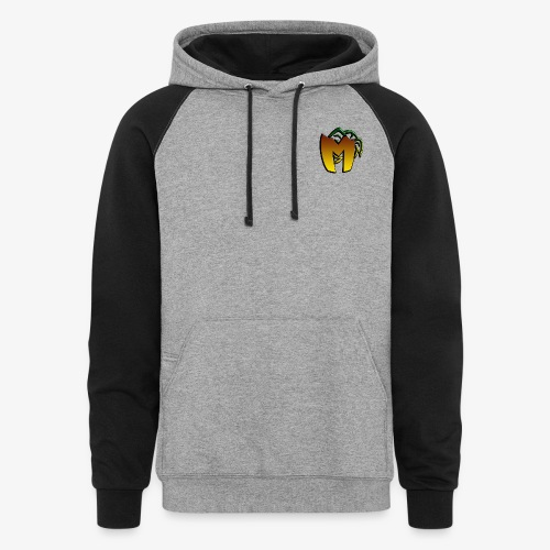 Our Logo - Unisex Colorblock Hoodie