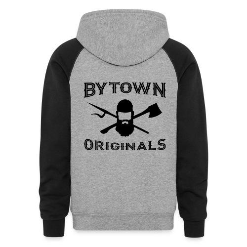 Bytown Black - Unisex Colorblock Hoodie