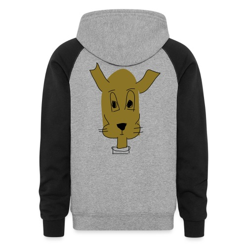 ralph the dog - Colorblock Hoodie