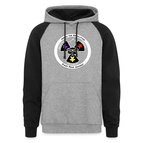 Pikes Peak Gamers Convention 2019 - Clothing - Colorblock Hoodie