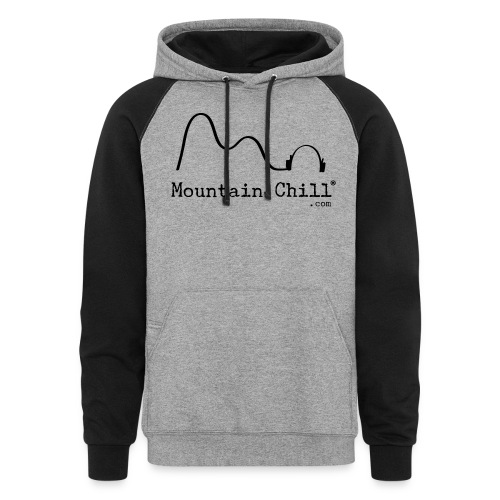 Mountain Chill Radio Official - Unisex Colorblock Hoodie