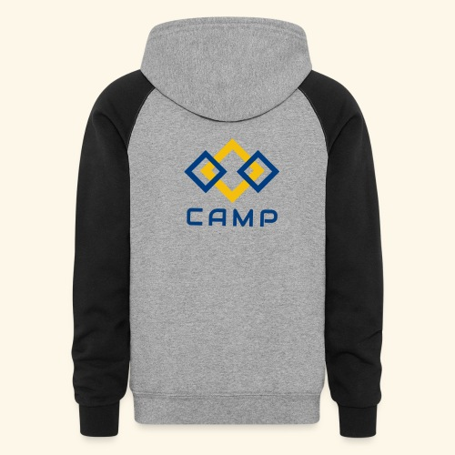 CAMP LOGO and products - Unisex Colorblock Hoodie