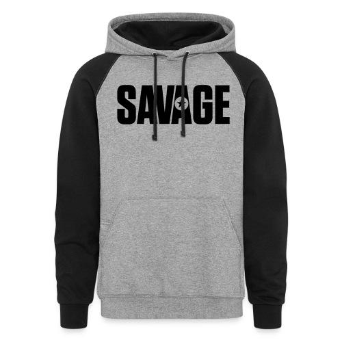 SAVAGE - Colorblock Hoodie