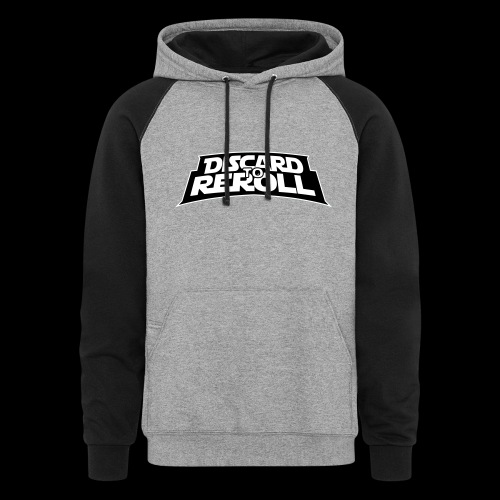 Discard to Reroll: Reroller Swag - Colorblock Hoodie