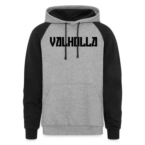 valholla futureprint - Colorblock Hoodie
