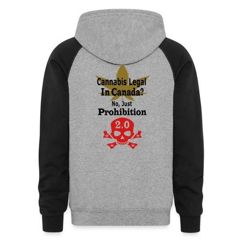 prohibition - Unisex Colorblock Hoodie