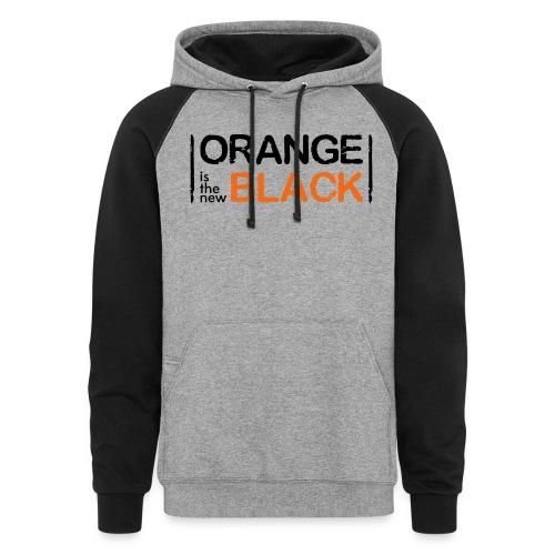 Free Piper, Orange is the New Black Women's - Unisex Colorblock Hoodie