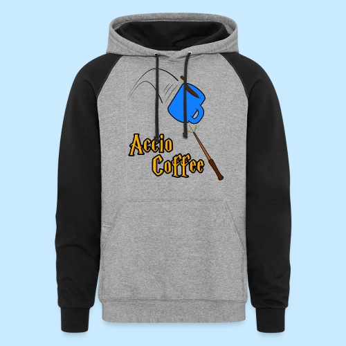 Accio Coffee! (Double Sided) - Colorblock Hoodie