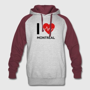 I Love Montreal - Colorblock Hoodie
