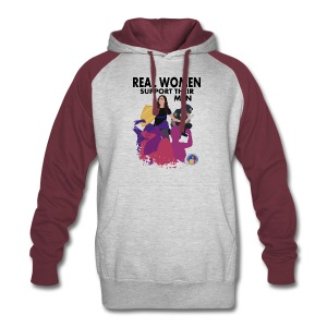Real Women Officer - Colorblock Hoodie