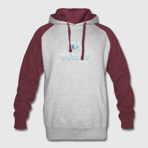 NetBeans with Logo and Slogan - Colorblock Hoodie