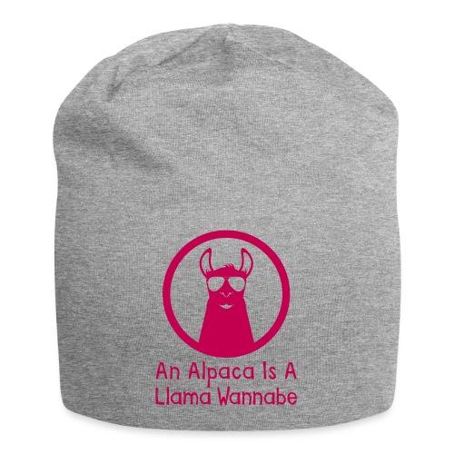 An Alpaca Is A Llama Wannabe - Jersey Beanie