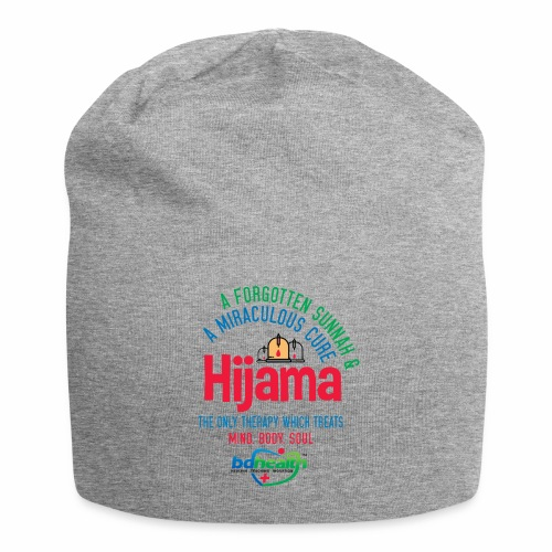 Hijama/Cupping/ Cupping therapy/ BD Health - Jersey Beanie