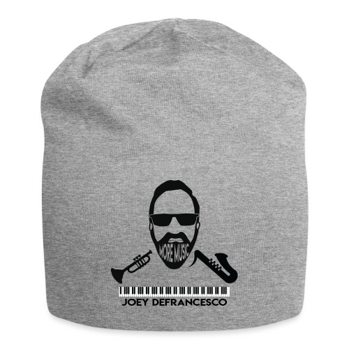 More Music Joey D front image - Jersey Beanie