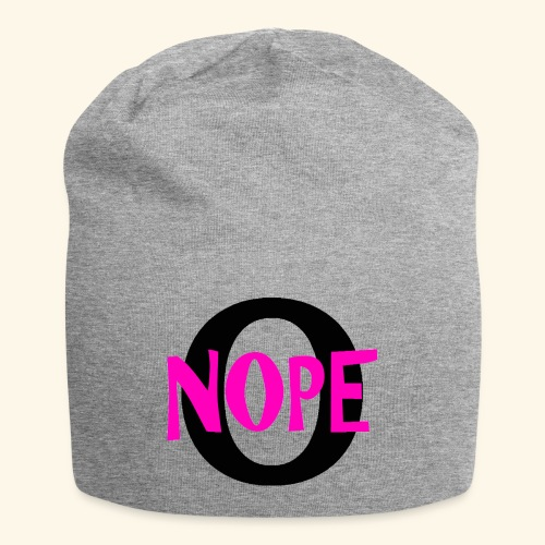 nope to O - Jersey Beanie