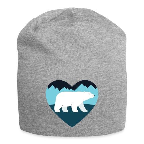Polar Bear Love - Jersey Beanie
