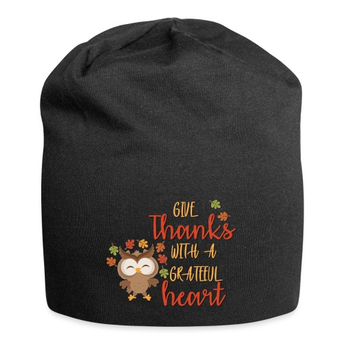 Give Thanks - Jersey Beanie