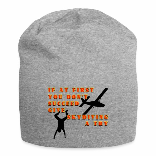 Try Skydiving - Jersey Beanie