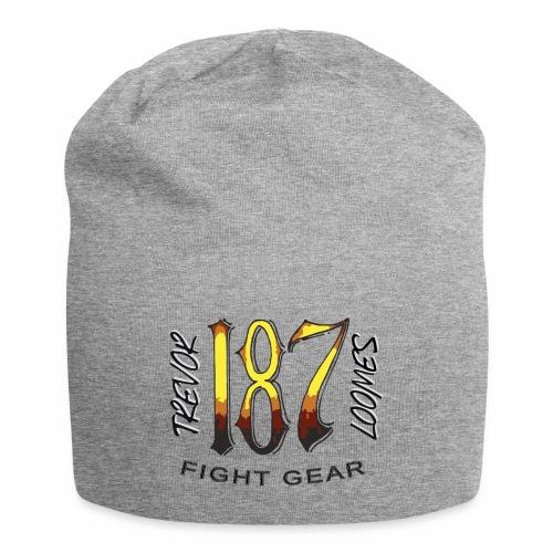 Coloured Trevor Loomes 187 Fight Gear Logo - Jersey Beanie