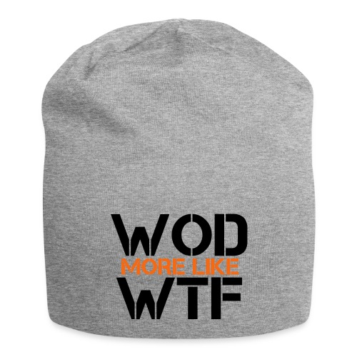 WOD - Workout of the Day - WTF - Jersey Beanie