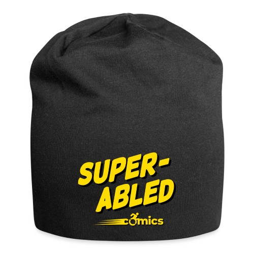 Super-Abled Comics - yellow/black - Jersey Beanie
