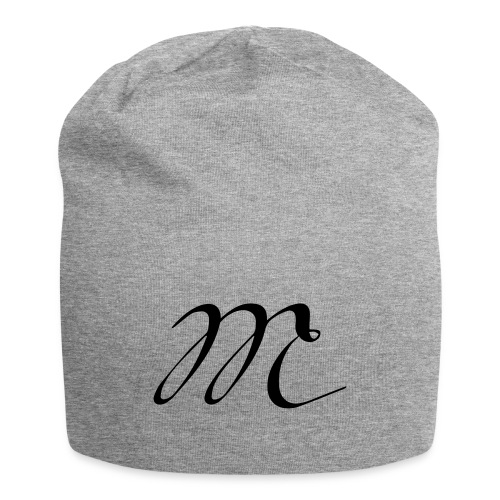 Letter M - Jersey Beanie