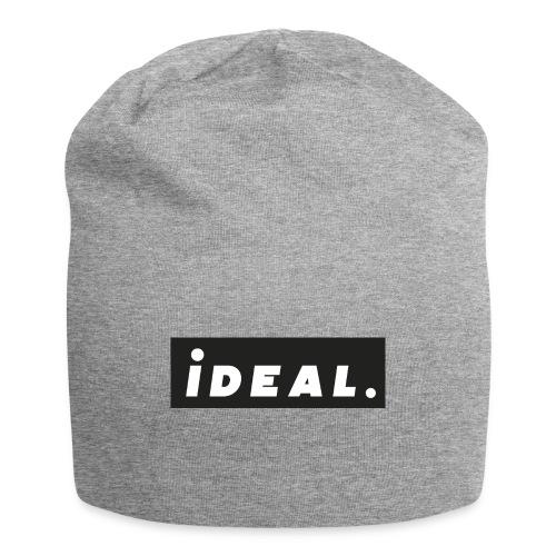 black ideal classic logo - Jersey Beanie