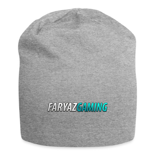 FaryazGaming Theme Text - Jersey Beanie