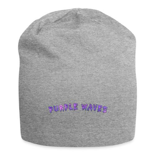 Purple Waves - Jersey Beanie