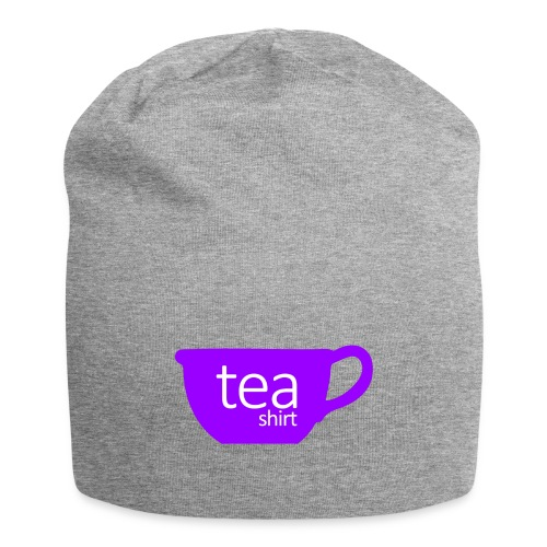 Tea Shirt Simple But Purple - Jersey Beanie
