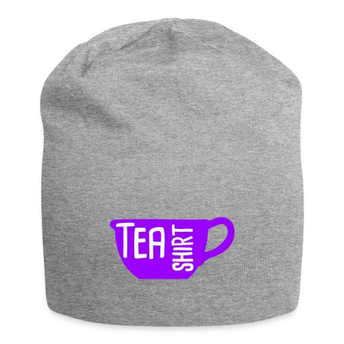 Tea Shirt Purple Power of Tea - Jersey Beanie