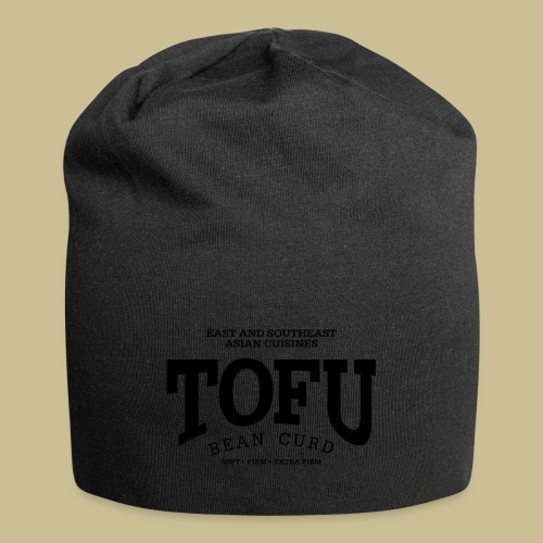 Tofu (black) - Jersey Beanie