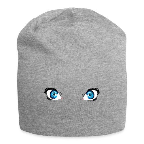 Glacier Blue Eyes - Jersey Beanie