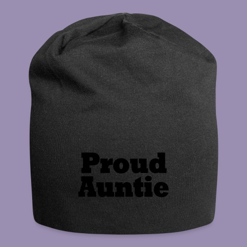 Proud Auntie - Jersey Beanie